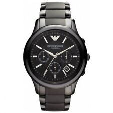 Emporio Armani AR1452 Black Ceramic Chronograph Watch  Men's Fashion Watch