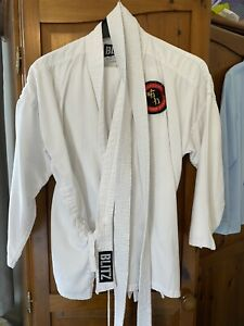 Karate Gi 140 With Trousers And Belt