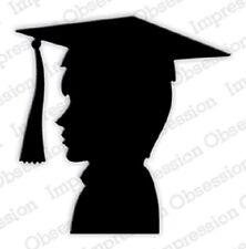 Impression Obsession BOY GRAD Thin Steel DIE DIE670-K New Graduation