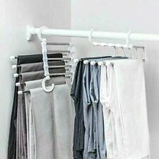 Magic Hanger Pants rack shelves Stainless Steel Multi-functional Wardrobe