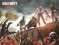 Call of Duty ~ Zombies ~ Game Double Sided Poster Art