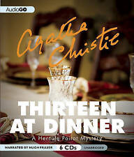 Thirteen at Dinner (Hercule Poirot Mysteries) by Agatha Christie (Audiobook CD)