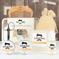 Beard Grooming Kit XL   Beard Oil, Balm, Wax, Soap, Scissors, Comb  