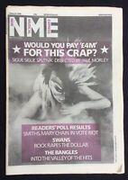 NME Magazine 8 March 1986 Swans Bangles Sigue Sigue Sputnik Readers Poll