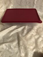 TUPPERWARE Cold Cut Keeper Snack Stor Large 9x13 Vineyard Seal Color Brand New