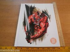 Alex Ross signed HC sketch book 2014 San Diego Comic Con exclusive #87/400