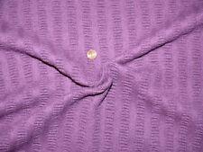 GOTTSTEIN Crinkle-Walk 100% Wolle Stoff Stoffrest lila 4,30 m x 1,45 m