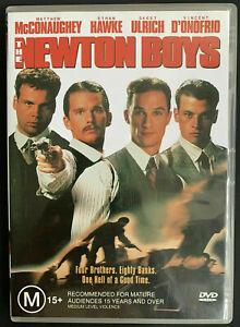 Newton Boys DVD 1998 Matthew McConaughey Ethan Hawke - SAME / NEXT DAY POST