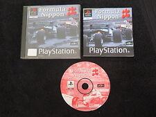 PS1 : FORMULA NIPPON - Completo ! Compatibile PS2 e PS3