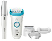 Braun Silk-epil 9 9-558 Wet & Dry Epilator Legs Body Face Bonus Edition Dual Vol