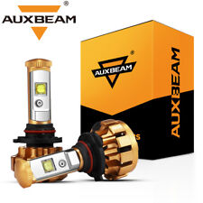 AUXBEAM F-16 SERIES 9005 HB3 H10 CREE LED Headlight Bulbs 60W 6000LM White 6000K