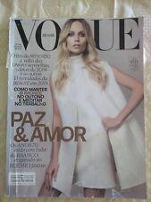 Brazil Vogue Magazine Cover Natasha Poly February 2015 G fashion