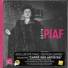 2 CD 40T + LIVRE EDITH PIAF CARRE DES ARTISTES EDIT. LIMITÉE FNAC + 30 PHOTOS