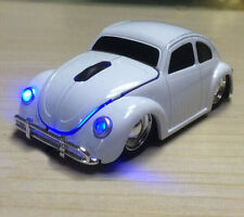 Collect classic Volkswagen VW beetle club car wireless optical mouse for Laptop