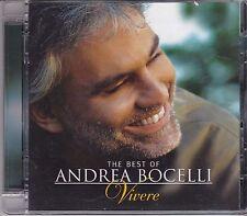 Andrea Bocelli-Vivere The Best Of cd album