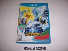 Original Box Case for Nintendo Wiiu Wii U Pokken Tournament