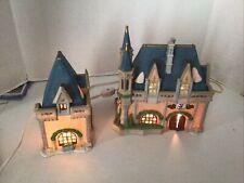 "Dept 56 Disney Park Fantasyland Resort ""Mickey's Christmas Carol�"