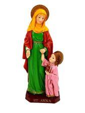"13"" Santa Ana Saint Anna San Statue Figurine Figure Religious"