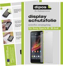 Sony Xperia M / Xperia M dual Protector de Pantalla protectores mate