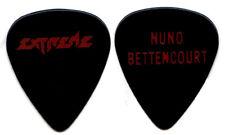 EXTREME Guitar Pick : 1990 Pornograffiti Tour Nuno Bettencourt black red