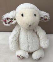 Jellycat Small Bashful Blossom Lamb Sheep Floral Soft Toy Comforter Baby Girl