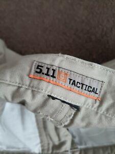 5.11 Tactical Hose W40 / L 30 beige Kahki robuste Baumwolle Canvas