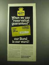 1969 Best Western Motels Ad - Reservation Guaranteed