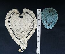 A15 Antique Pineapple Crochet Lot Salvage use for Small Doll Dolls Cape etc. Lot