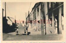Foto, I.R. 13./66., Polen, im Gefecht in Radom, 1939; 5026-221