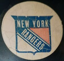 VINTAGE  VICEROY OFFICIAL GAME  PUCK  NEW YORK RANGERS  73-83