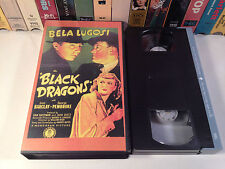 Black Dragons Rare Sinister Cinema Horror VHS 1942 OOP HTF Bela Lugosi