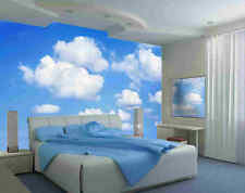 Clouds-12'W by 8'H-Wall Mural