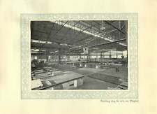 1920 Italy Naples Factory Finishing Shop Railway Lines