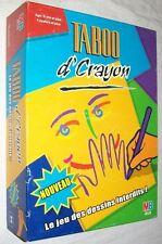 Jeu de société Taboo d'crayon - Le jeu des dessins interdits - MB - TBE -