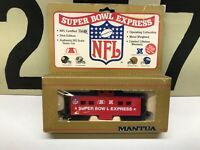 Mantua HO Scale NFL Super Bowl Express Caboose RTR New Old Stock