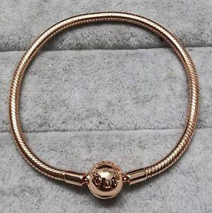 Pandora Rose Bracelet 580728 Moments armband Größe 22 cm ALE MET