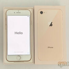 NEW APPLE IPHONE 8 (UNLOCKED) 64GB SMARTPHONE AT&T T-MOBILE VERIZON - GOLD