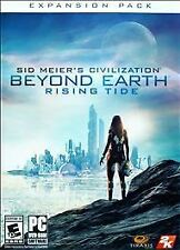 New PC Game Sid Meier's Civilization BEYOND EARTH Rising Tide, NEW!!!