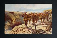 WW1 Postcard British Tommy Atkins Soldiers Wandsworth Road South London