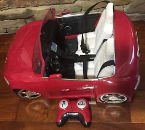 """American Girl Red RC Sports Car for 18"""" Doll  w/ Remote No Charger"""