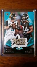 2015 Panini Rookies & Stars #EP19 Blake Bortles TJ Yeldon Embroidered Patch card