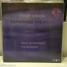 FRED SIMON, Steve Rodby, Paul McCandless REMEMBER THE RIVER - Jazz trio LP New