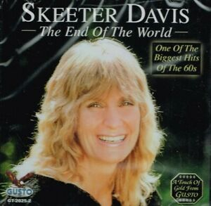 """SKEETER DAVIS """"THE END OF THE WORLD"""" Brand New CD COUNTRY MUSIC"""
