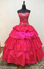 NEW Marys Bridal Beloving Quinceanera XV Sweet Dress Gown 4853 Pink Magenta 16