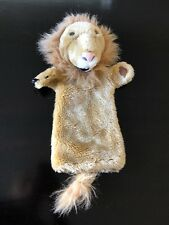 "The Puppet Company 15"" Long Sleeve Hand Glove Lion Puppet Storytelling Learn EUC"