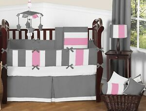 Patchwork Toddler Bedding Set Flat Fitted Bed Skirt Comforter Pillowcase