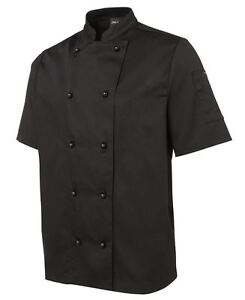 Mens Short Sleeve Chefs Jacket
