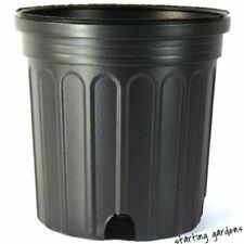 1 Gallon Nursery Pot, (Qty. 100), Black Trade Gallon, 6.5 x 6.5 New