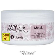 Hydrating Mask 500ml Argan & Macadamia Biacrè ® Nourishing Conditioner all hair