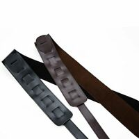 Guitar Bass Belt Guitar Straps Leather Belt Padded Shoulder Strap Guitar ra
